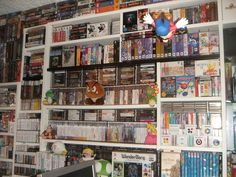 This Is What 30 Years of Collecting Video Games Looks Like (and It's For Sale). Too bad I can't have. I have to be realistic, cause I have no space for that. And I am not hoarder or rich to pay for all, but it's a cool collection.
