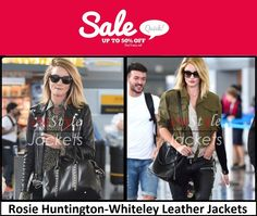 This Winter Season get special discount at our online store we are giving 50% discount on every leather jackets and on Rosie Huntington-Whiteley Jackets as well, it's a limited offer so hurry up...  #womensclothing #womensfashion #womenswear #leather #jackets #leatherjacket #discount #christmasmonth #christmasdeal #newyear #newyear2016 #rosie #huntington