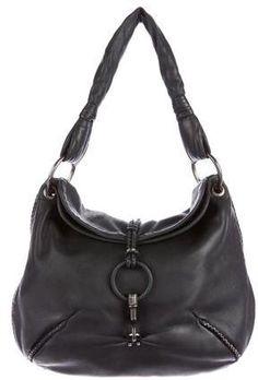 991c6a68df Bottega Veneta Intrecciato-Trimmed Leather Hobo Designer Bags Online