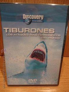 TIBURONES. LOS ATAQUES MÁS TERRORÍFICOS. ED / DISCOVERY CHANNEL. DVD - PRECINTADO.
