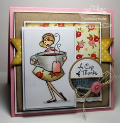 Featuring:  á la modes in You're My Cup Of Tea!