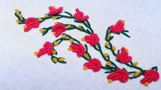 Hand embroidery Brazilian stitch border design for dress Embroidery Stitches Tutorial, Hand Embroidery, Brazilian Embroidery, Designs For Dresses, Border Design, Stitch Design, Kids Rugs, Make It Yourself, Lazy