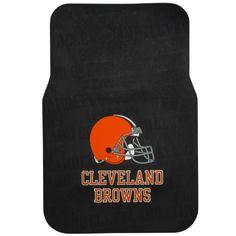 Cleveland Browns Historic Logo 2-Pack Car Front Floor Mats - $31.99