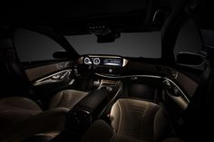 Mercedes S Klasse 2013 interieur 01