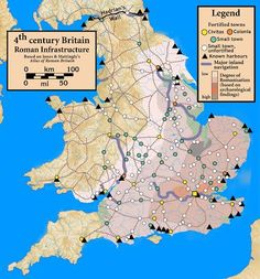 British history posts by authors of British historical fiction. Map Of Britain, Roman Britain, Great Britain, Uk History, Roman History, British History, European History, Historical Fiction Authors, Historical Maps