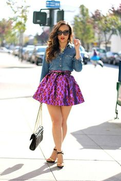 I absolutely love this type of skirt!