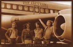 Led Zeppelin On Tour Poster - Jimmy Page, Robert Plant, John Paul Jones, John Bonham - Music Posters. John Paul Jones, John Bonham, Jimmy Page, Led Zeppelin Poster, Led Zeppelin Wallpaper, Rock And Roll, Ozzy Osbourne, Robert Plant, Classic Rock