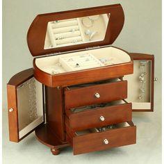 Classic Wooden Jewelry Box