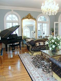 The Formal Living Room