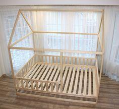 Kinderbett Selber Bauen Xxl Hausbett Bauanleitung Kinderzimmer