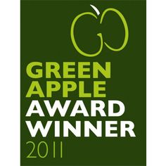 """GutterMate wins the """"Green Apple Award"""" as part of a national campaign to find Britain's greenest companies, councils and communities! Green Companies, Rainwater Harvesting, Geodesic Dome, Built Environment, Award Winner, Innovation, Awards, Apple"""