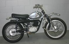 DKW 125 1972  ,   Lots of riders raced these back in the late 60's and early 70's .  That front end worked very well, but heavy.