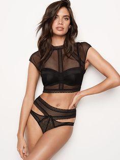 6c909ce6c8 Fishnet Lace Top - Very Sexy - Victoria s Secret Women Lingerie