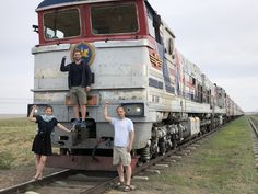 Private train with Zarengold from Moscow to Beijing.