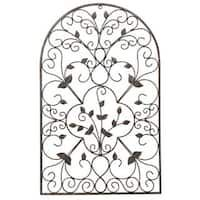 The Fleur De Lis Living Spanish Wall Decor Makes For A Fantastic Addition Your Home Decor. Its Minimal Build And Structural Design Give It A Contemporary Feel, But Its Overall Shape Keeps It Within The Boundaries Of Traditional Styling. Its Visual Appeal Metal Wall Decor, Metal Wall Art, Patio Fence, Patio Wall, Garden Wall Art, Spanish Style Homes, Steel Wall, Cool Walls, Wall Sculptures