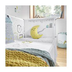 Dise/ño de animales de la selva Juego de ropa de cama de la marca Bedding Store Juego de cama de 2 piezas reversible para cuna y con chichonera