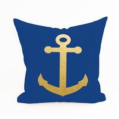 Anchor Pillow Cover