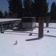 IB Systems   PVC Single Ply 50 Mil Cool Roof   ISO Board Insulation