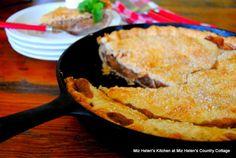 Apple Skillet Pie at Miz Helen's Country Cottage