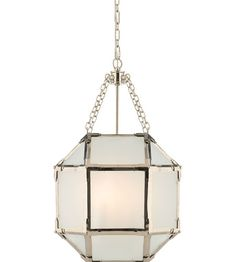 This 3 light Ceiling Lantern from the Suzanne Kasler Morris collection by Visual Comfort will enhance your home with a perfect mix of form and function. The features include a Polished Nickel finish applied by experts. This item qualifies for free shipping! Check the right-hand bar or call our dedicated Sales Team for similar items and additional options not pictured.