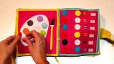 Quiet Book / Busy Book / Książeczka sensoryczna z filcu dla dzieci