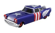 Takara Tomy Tomica Marvel TUNE Evo.8.0 Missile Yard Captain America Diecast Toy #Tomica
