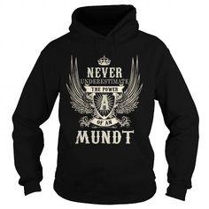 Cool MUNDT MUNDTYEAR MUNDTBIRTHDAY MUNDTHOODIE MUNDTNAME MUNDTHOODIES  TSHIRT FOR YOU T-Shirts