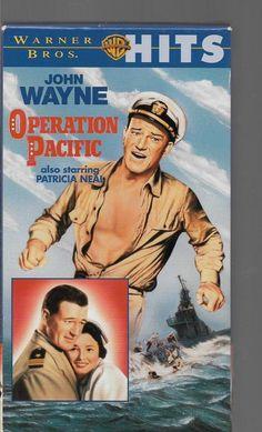 Operation Pacific John Wayne Patricia Neal VHS