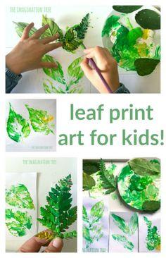 Kunstprojekte Für Kinder Leaf Art Projects For Kids Leaf – PiWitter