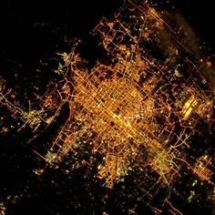 Beijing from outer space.