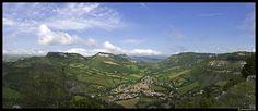 Panorama-vue sur Tournemire