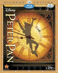 Disney's 1953 animated classic Peter Pan is now available in a Blu-ray set. Film looks and sounds great but story is marred by insensitive stereotypes