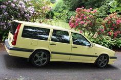 '95 Volvo 855 T-5R, cream yellow | eBay
