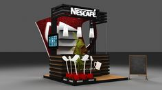 Nescafe Activation Booth on Behance