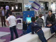 Interaktywna rozrywka w centrum handlowym. Zwłaszcza dla najmłodszych www.zabawiacze.pl