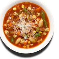 White Bean & Vegetable Minestrone from Rachael Ray Magazine
