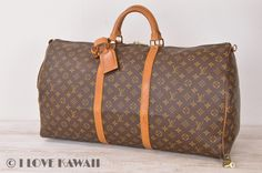 Louis Vuitton Monogram Keepall 60 Travel Bag M41422