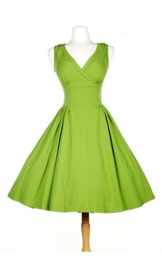 Pinup Couture- Scrumptious Dress in Olive | Pinup Girl Clothing