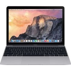 "MacBook 12"" DC Intel M 1.1GHz 8GB 256GB flash HDG Uzay Grisi"