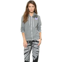 FREECITY FREECITY Zip Hoodie ($150) ❤ liked on Polyvore