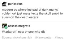 Humor funny Voldemort death eaters Harry potter