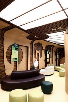 2008 胡碩峰 大牆演繹設計有限公司 - 台大兒童醫院一樓候診空間「異想森林」