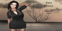 The Summer Sahara Zen Dress SL Gift. The dress comes in five sizes and it is great as casual evening wear with heels and flats.