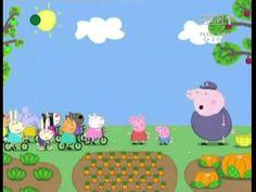 Świnka Peppa - Kto mieszka w ogrodzie - YouTube