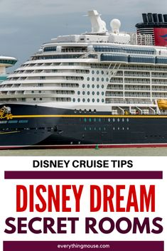 Booking a Disney Dream Cruise? Learn what no one tells you about the Disney Dream Secret Rooms.Did you know that there are some staterooms which are better value than others, or offer more space than others in that category. Find out exactly how to decide which Disney Dream stateroom you should book. Disney Fantasy Cruise, Disney Dream Cruise, Disney Cruise Ships, Disney Home, Disney Vacations, Disney Secrets In Movies, Disney World Secrets, Disney World Tips And Tricks, Disneyland Tips