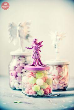#Feen #Kindergeburtstag #Mädchen #Deko #Bonbon #Gläser #kids #girls #birthday #fairy #deco #party