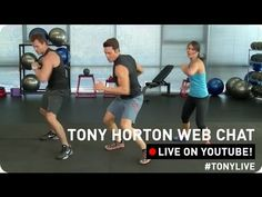 ▶ Beachbody Live! Workout With Tony Horton! - YouTube