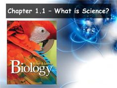 This free powerpoint and Guided Notes set is used as an introduction to biology. The powerpoint and guided notes correspond to Section What is Science? from Miller and Levine. Biology Textbook, Biology Teacher, Science Biology, Teaching Biology, Science Education, Teaching Tools, Teaching Ideas, What Is Science, Easy Science