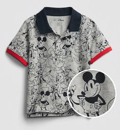 Mickey Mouse Outfit, Mickey Mouse Shirts, Disney Mickey Mouse, Disney Family Outfits, Boy Outfits, Disney Boys, Baby Disney, Cool Baby Clothes, Pique Polo Shirt