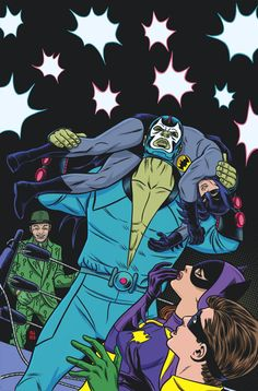 BATMAN '66 #27 Written by JEFF PARKER Art by SCOTT KOWALCHUK Cover by MICHAEL ALLRED